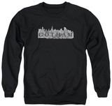Crewneck Sweatshirt: Gotham - Skyline Logo T-Shirt