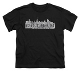 Youth: Gotham - Skyline Logo Shirt