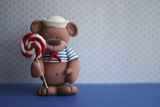 Bear Lollipop Sailor Photographic Print