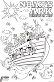 Noah's Ark Coloring Prints