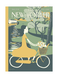 The New Yorker Cover - May 4, 2015 Regular Giclee Print by Frank Viva