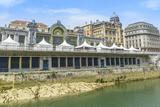 Río Nervión Y La Estación De Tren De Abando, Bilbao (España) Photographic Print by  ALCE