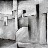 An Abstract Charcoal Drawing Affiches par  clivewa