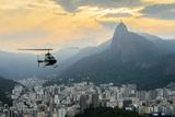Sunset View of Rio De Janairo, Brazil Photographic Print by det-anan sunonethong