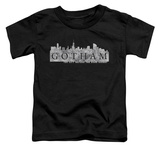 Toddler: Gotham - Skyline Logo T-shirts