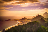 Copacabana Beach Photographic Print by Celso Diniz