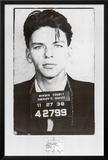 Frank Sinatra Mugshot Prints