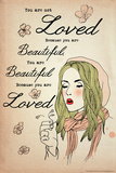 Loved Beautiful Prints