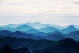 View on Mountains from Corcovado, Rio De Janeiro, Brazil Reproduction photographique par  earlytwenties