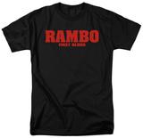 Rambo First Blood - Logo Skjorte