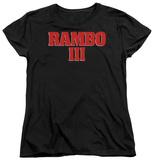 Womens: Rambo III - Logo T-shirts