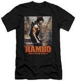 Rambo First Blood II - The Hunt (slim fit) T-shirts