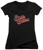 Juniors: Doobie Brothers - Logo V-Neck T-Shirt
