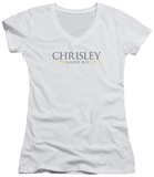 Juniors: Chrisley Knows Best - Logo V-Neck T-Shirt