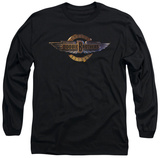 Long Sleeve: Doobie Brothers - Biker Logo T-Shirt