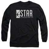 Long Sleeve: The Flash - S.T.A.R. T-Shirt