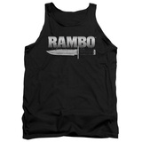 Tank Top: Rambo First Blood - Knife Tank Top