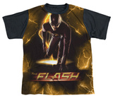 Youth: The Flash - Bolt Black Back T-shirts