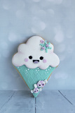 Snowcone Cookie Photographic Print