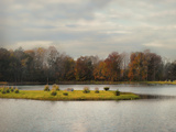 Autumn Rising at the Duck Pond Photographic Print by Jai Johnson