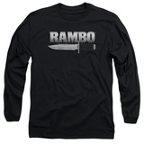 Long Sleeve: Rambo First Blood - Knife Shirts