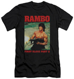 Rambo First Blood II - Dropping Shells (slim fit) T-Shirt