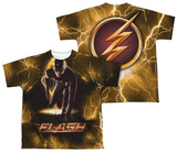 Youth: The Flash - Bolt (Front - Back Print) T-Shirt
