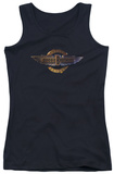 Juniors Tank Top: Doobie Brothers - Biker Logo Tank Top