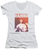 Juniors: Rambo III - Creep V-Neck Shirt
