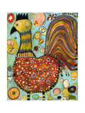 Blubs the Chicken Giclee Print by Jill Mayberg