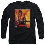 Long Sleeve: Rambo First Blood II - Poster Shirts