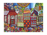 Pieces and Places Giclee Print by Debra Denise Purcell
