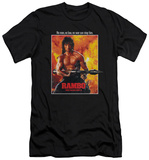 Rambo First Blood II - Poster (slim fit) T-Shirt