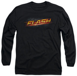Long Sleeve: The Flash - Logo T-Shirt