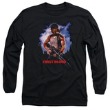 Long Sleeve: Rambo First Blood - Poster Shirt