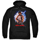 Hoodie: Rambo First Blood - Poster Pullover Hoodie