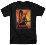 Rambo First Blood II - Poster Shirt