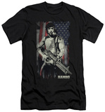 Rambo First Blood - Worn Liberty (slim fit) T-Shirt