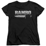 Womans: Rambo First Blood - Knife T-Shirt