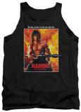 Tank Top: Rambo First Blood II - Poster Tank Top