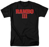 Rambo III - Logo T-Shirt