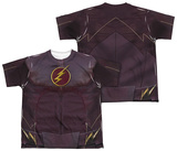 Youth: The Flash - Flash Uniform (Front - Back Print) T-shirts