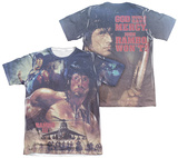 Rambo III - No Mercy (Front - Back Print) T-shirts
