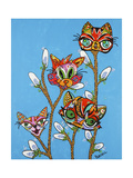 Pussy Willows Giclee Print by Debra Denise Purcell