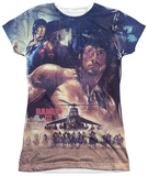 Juniors: Rambo III - No Mercy Shirt