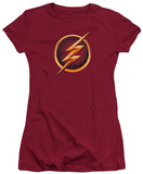 Juniors: The Flash - Chest Logo T-Shirt