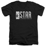 The Flash - S.T.A.R. V-Neck T-shirts