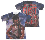 Rambo First Blood - Drew First (Front - Back Print) T-Shirt