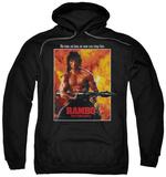 Hoodie: Rambo First Blood II - Poster Pullover Hoodie