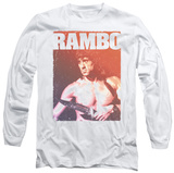 Long Sleeve: Rambo III - Creep T-Shirt